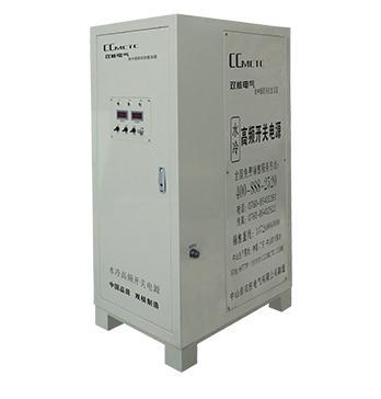 高频直流电源的技术考核指标和现象
